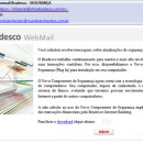 E-mails falsos do Bradesco, cuidado!!!