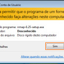 Instalando o Nmap 6.25 no Windows 7