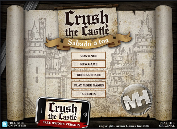 sabado a toa crush the castle